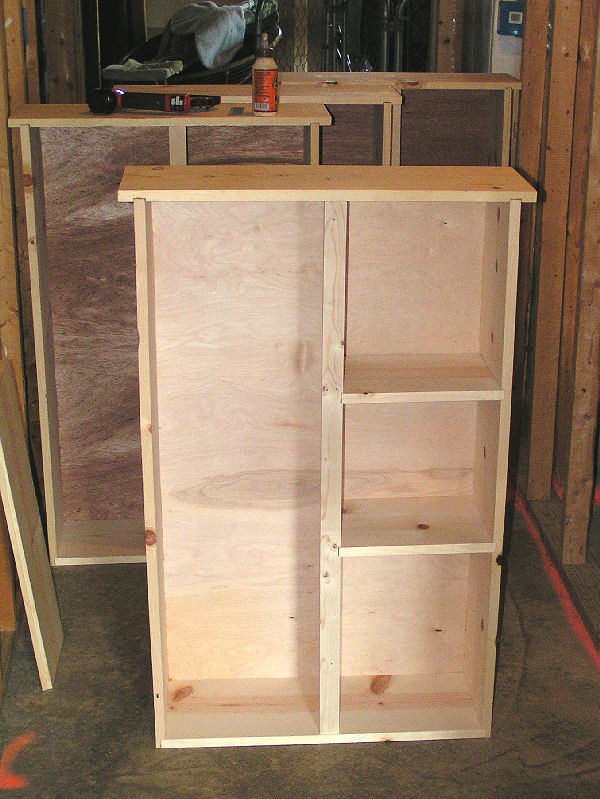 Assembled Cabinet Shell