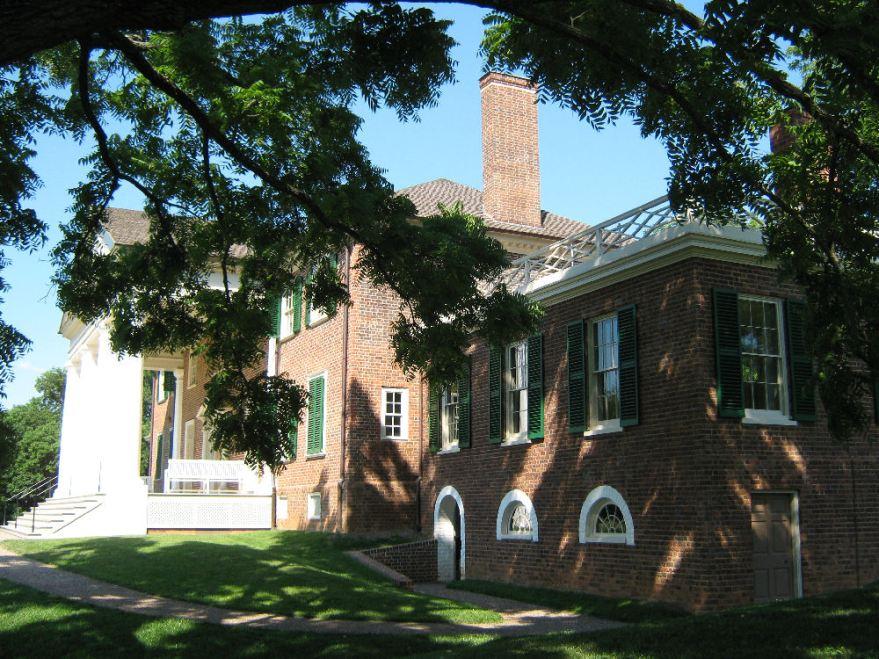 Montpelier House, southwest corner