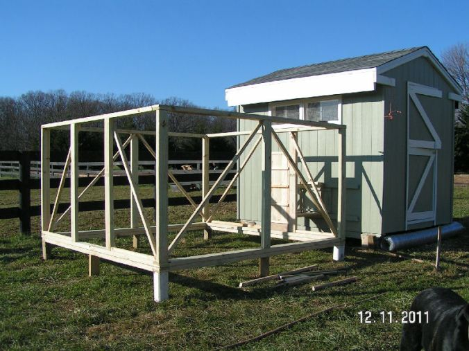 Framing the Chicken Run