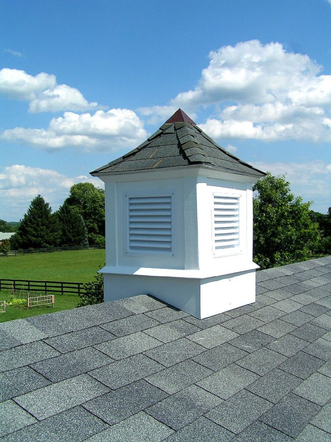Completed Cupola