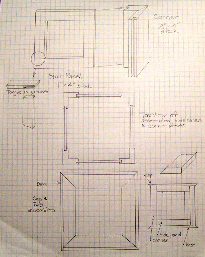 Pdf cupola designs plans free for Free cupola blueprints