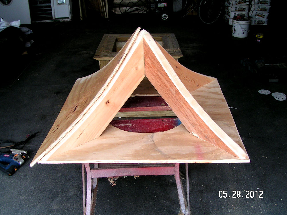 Woodwork woodworking plans cupola pdf plans for Free cupola plans